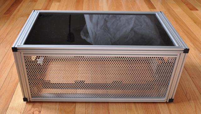 External radiator box