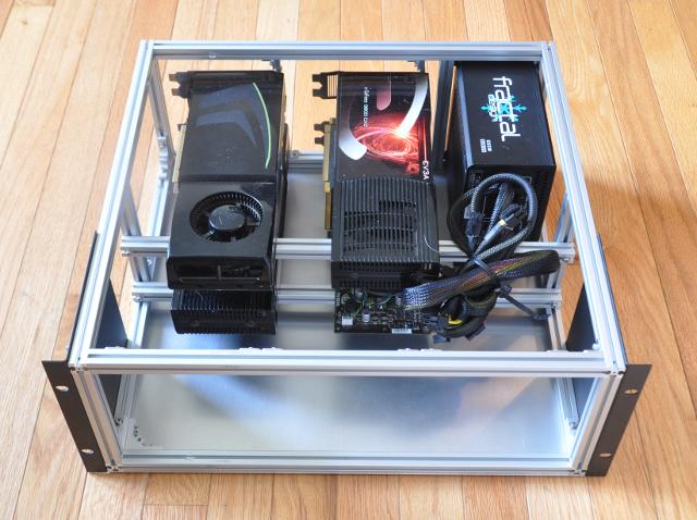 GPU server case